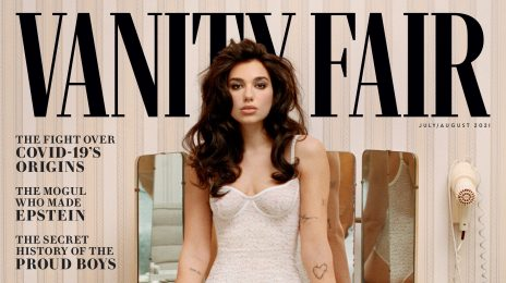 Dua Lipa Dazzles For Vanity Fair / Confirms She's Working On Next Album