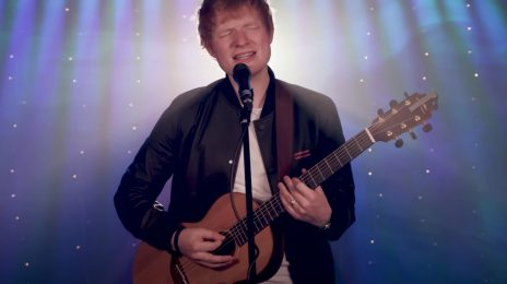 Watch: Ed Sheeran Belts 'Bad Habits' Acoustically & Dishes On New Album