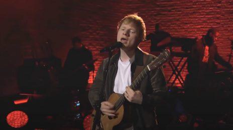 Ed Sheeran Kicks Off 'Corden' Residency, Belts 'Bad Habits' & More [Video]