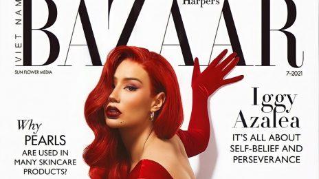 """Iggy Azalea Stuns For Harper's Bazaar Vietnam / Says """"I'm Busier Than I've Been in Years"""""""