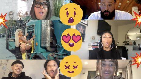 Watch: Megan Thee Stallion Shares 'Thot Sh*t' Reaction Video Featuring Taraji P. Henson, DJ Khaled, Tinashe & More