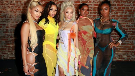 The Weeknd, Saweetie, Chloe Bailey, & Normani Among Stars at Doja Cat 'Planet Her' Release Party [Photos]