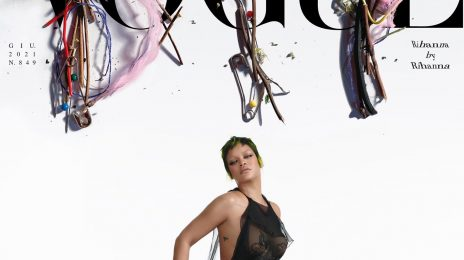 Rihanna Covers Vogue Italia's Do It Yourself Issue
