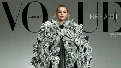 Selena Gomez Stuns For Vogue Singapore