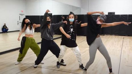 Behind the Scenes: Tinashe's 'Pasadena' Music Video [Rehearsals]