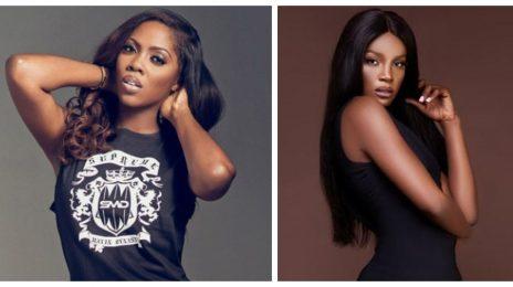 Shocking! Tiwa Savage & Seyi Shay Have Heated Confrontation In Nigerian Hair Salon [Video]