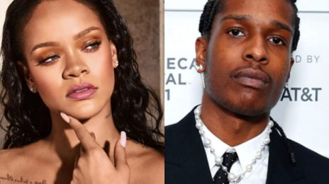 Rihanna & A$AP Rocky Spotted Filming New Music Video