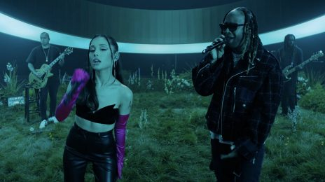 Watch: Ariana Grande & Ty Dolla $ign Soar With 'Safety Net' on VEVO Live