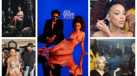 Behind the Scenes:  Doja Cat's 'You Right' Music Video with The Weeknd [Watch]