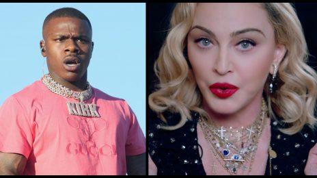 "Madonna Slams 'Hateful' DaBaby Amid Homophobic Backlash: ""I Want To Pray...for Your Ignorance"""