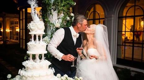 Gwen Stefani Shares Pictures of Her & Blake Shelton's Wedding