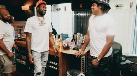 JAY-Z & Meek Mill Join Forces In The Studio