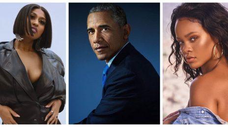 Barack Obama Unwraps His Top Songs of Summer 2021 / Jazmine Sullivan, Rihanna, JAY-Z & More Featured