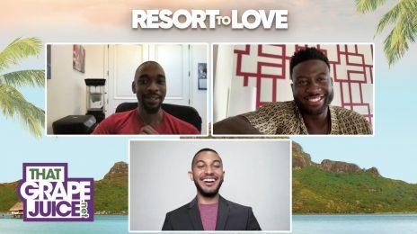 Exclusive: 'Resort To Love' Stars Jay Pharoah & Sinqua Walls Talk New Netflix Rom-Com