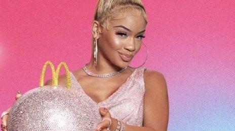 Saweetie Teams with McDonald's / Teases 'The Saweetie Meal'