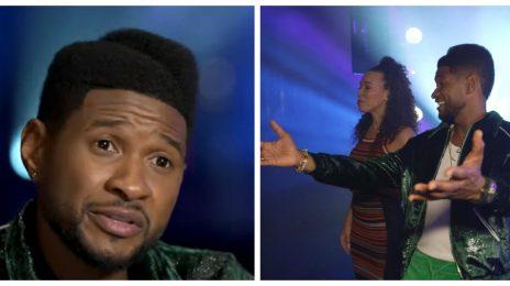 Usher Goes Behind the Scenes of Las Vegas Residency & Spills on New Music