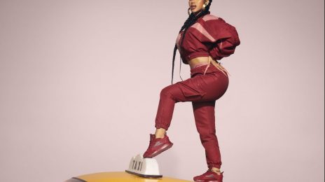 Behind the Scenes:  Cardi B Unveils Latest Reebok Clothing & Shoe Collection [Watch]