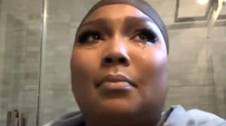 """Lizzo Breaks Down In TEARS Over """"Fatphobic"""" Trolls"""