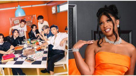 BTS & Megan Thee Stallion's 'Butter' Remix Rockets to #1 on Worldwide iTunes
