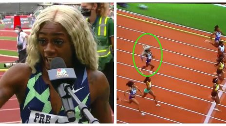 Sha'Carri Richardson Comes in LAST Place in Shocking Return Race