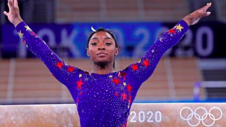 Simone Biles Claims Bronze In Balance Beam