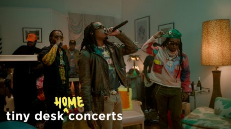 Migos Rock NPR's Tiny Desk Concert with 'Straightenin,' 'Avalanche,' & More [Video]