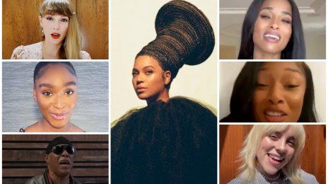 Beyonce Turns 40: Ciara, Megan Thee Stallion, Normani, Lil Nas X, Taylor Swift, Doja Cat, Stevie Wonder, Billie Eilish & More Wish Star Happy Birthday