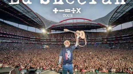 Ed Sheeran Announces 'The Mathematics Tour' / Unveils Stadium Dates