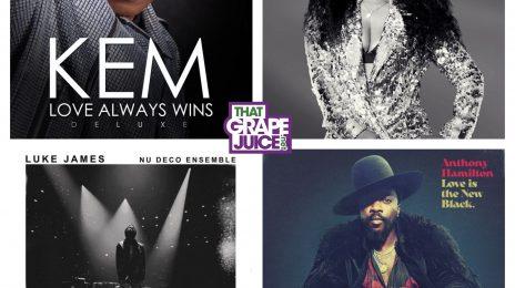 R&B Round-Up:  Stream New Music from Tweet, Luke James, Anthony Hamilton, & Kem