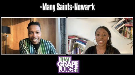 Exclusive: Leslie Odom Jr. Talks New Movie 'The Many Saints of Newark'