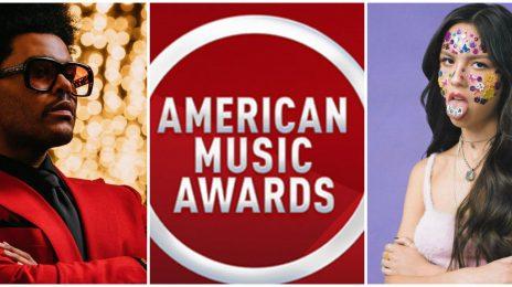 2021 American Music Awards: Olivia Rodrigo Leads / The Weeknd, Megan Thee Stallion, Doja Cat, Lil Nas X & More Named [Full Nominations List]