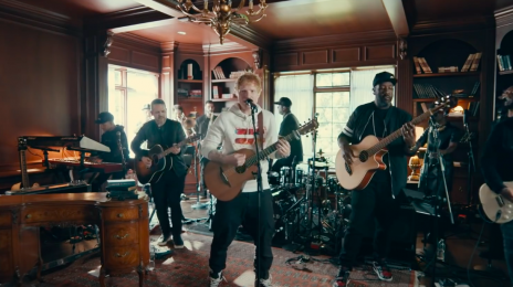 Watch: Ed Sheeran Rocks Out With 'Bad Habits,' 'Shivers,' & More For NPR's Tiny Desk Concert