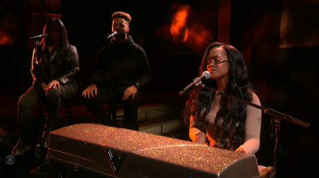 Did You Miss It? H.E.R. Rocked 'The Late Show' with 'For Anyone' Live [Video]