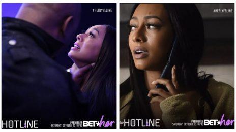 Movie Trailer:  BET Her's 'The Hotline' [Starring Keri Hilson, Raheem DeVaughn]