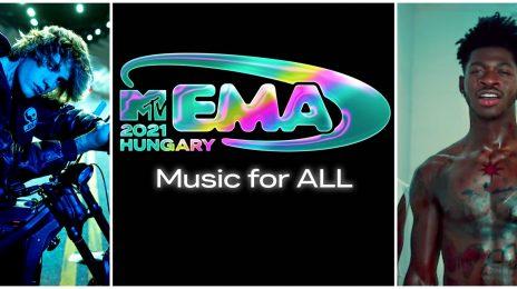 MTV EMAs 2021: Justin Bieber, Lil Nas X, & Doja Cat Lead Nominations [Full List]