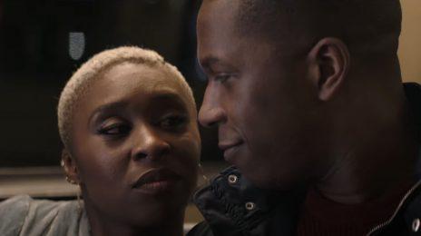 Movie Trailer: 'Needle in a Timestack' [Starring Leslie Odom Jr., Cynthia Erivo, & Orlando Bloom]