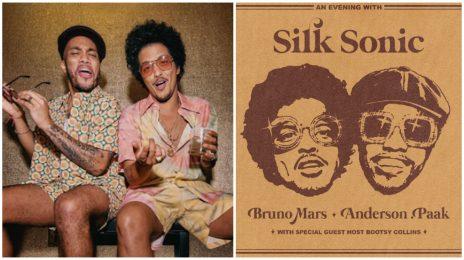 Bruno Mars & Anderson .Paak Announce November Release for Silk Sonic Album