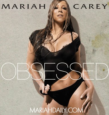 Mariah's 'Obsessed' Single Cover