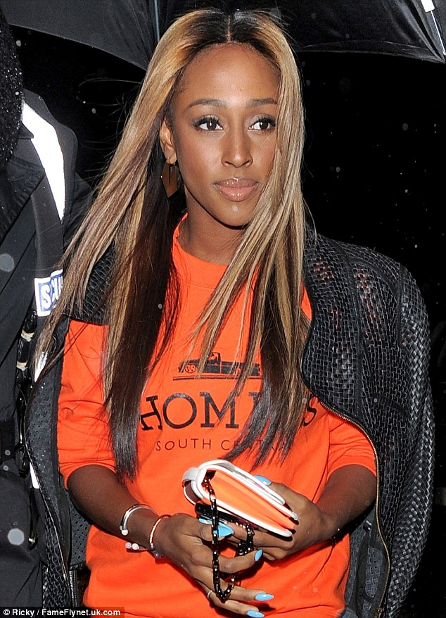 0a3dc9bae51ff826295393581a5dfd53 Hot Shots: Alexandra Burke Joins Jamelia For Jourdan Dunn Leaving Party