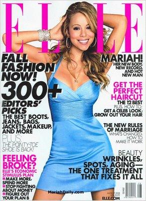Mariah Covers ELLE