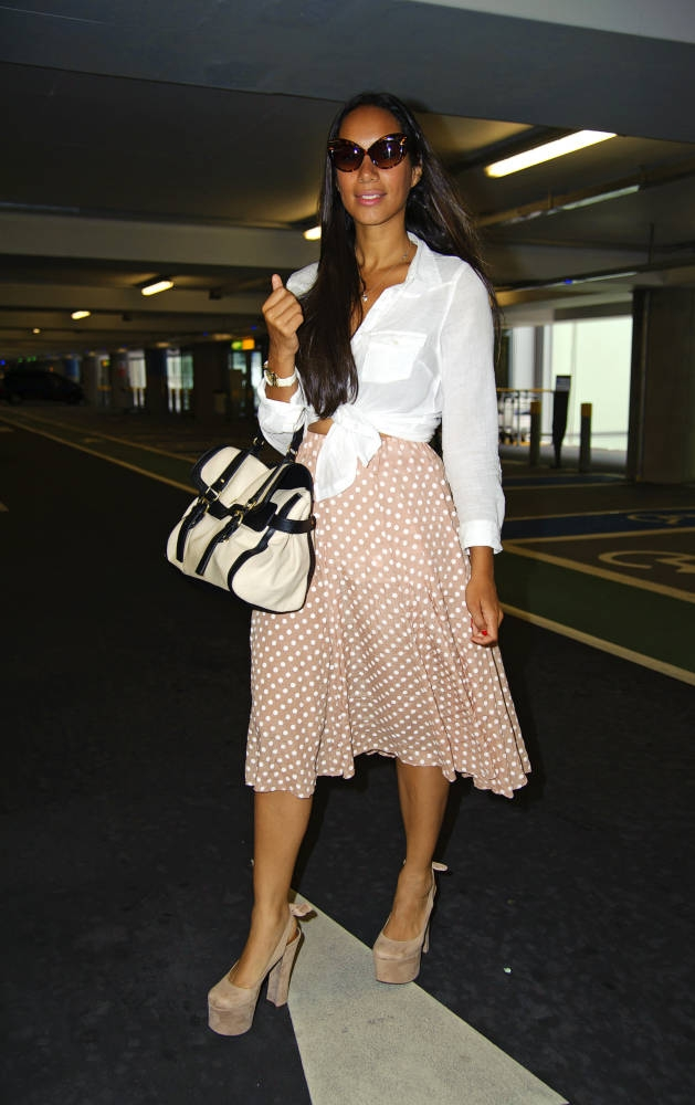 196b494a9a89a4c77ab9aaa914cdf390 Hot Shot: Leona Lewis Snapped In Londons Heathrow Airport