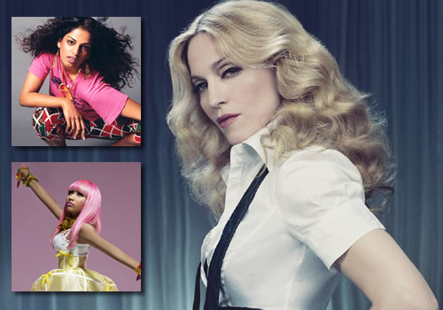 1fc46f8ebf0b42c33d88a422ee381d09 Watch:  Madonna & M.I.A. Make Moves In the Studio
