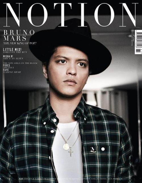 44dce037d6c5840685b4f12f6206a431 Watch:  Bruno Mars Crowned New King Of Pop by Notion Magazine, Unveils Making Of Unorthodox JukeBox Clip