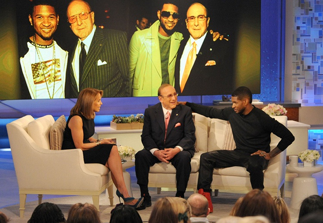 45c24aa04611d807f5d69230f4d67d9d Clive Davis Visits Katie With Usher, Responds To Kelly Clarkson Slam