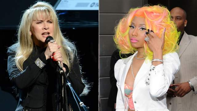 528052fa3d3ea91aa2f304bd00d8b8fb Rock Icon Stevie Nicks On Nicki Minaj Vs. Mariah Carey:  I Wouldve Strangled Her