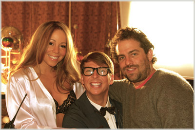 Mariah On The Set Of 'Touch My Body'