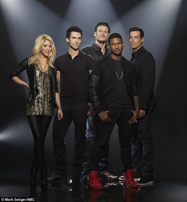 6033f63598a2a9c8d654fde0dc6d35d6 Teaser: The Voice (Season 4) (Starring Usher & Shakira)