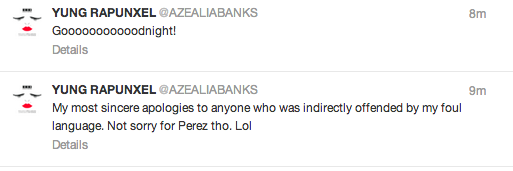 62415134ea45c1752c79dada0bb796fc Azealia Banks Beefing With Perez Hilton, Causes Controversy With Gay Slur *Updated*