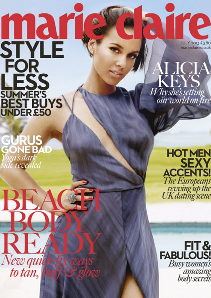 67ee4f5bc4bfd1fffbecc8f626901efc Behind the Scenes:  Alicia Keys Shines In Marie Claire (Video)