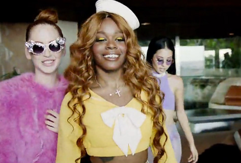 6ea79c475986d8edbb3499c2cbbb44a5 New Video:  Azealia Banks   ATM Jam